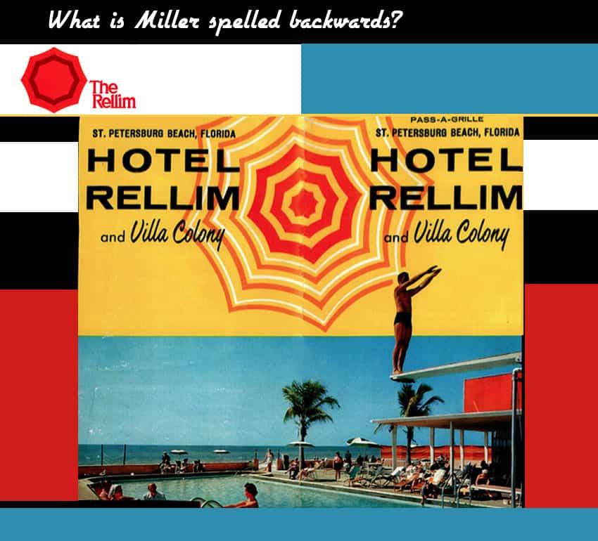 Hotel Rellim postcard